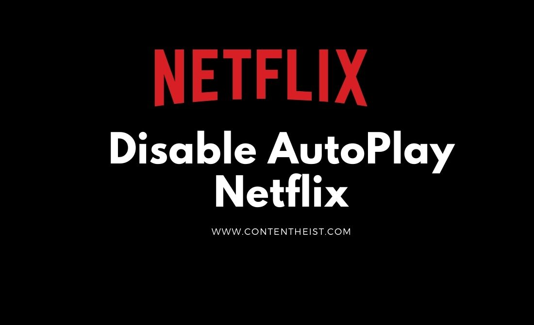 Disable AutoPlay Netflix