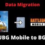 Data Migration PUBG Mobile to BGMI